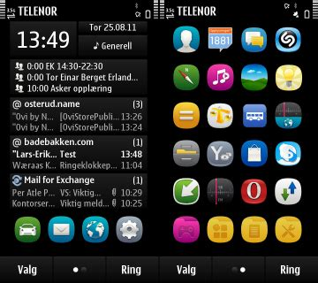 themes apps sis nokia symbian 3 themes dark solid dark outline