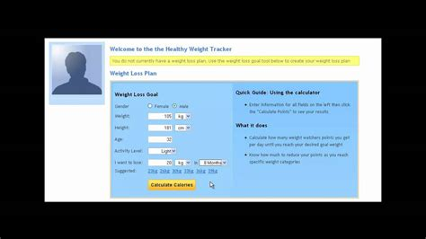 weight loss goal calculator healthy weight calculator 3 how to create your weight