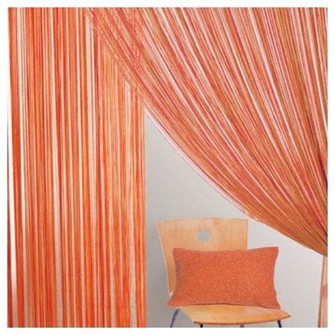 string curtain panel bacati string curtain panel orange you glad i didn t say