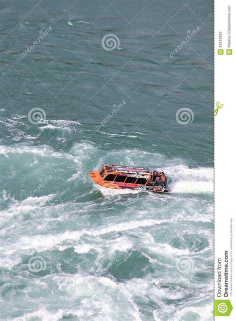 niagara falls boat tour times niagara jet boat tours editorial image image 63312900