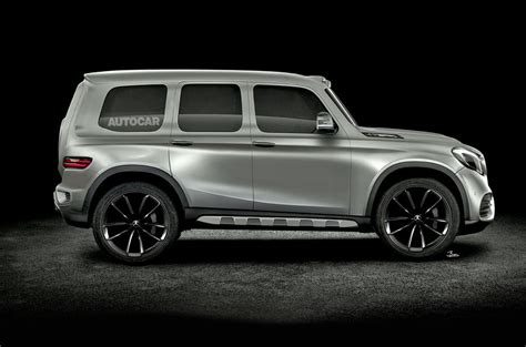 mercedes g class 2019 2019 mercedes glb to be road biased g class sibling