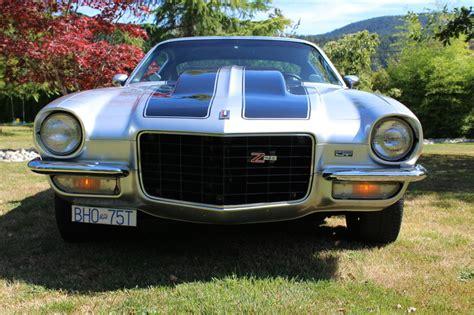 camaro for sale bc 1973 chevrolet camaro z 28 for sale in port alberni