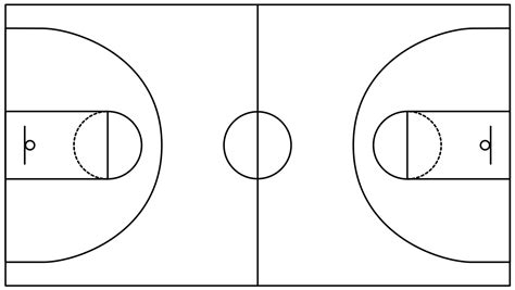 basketball number diagram half court basketball court basketball scores