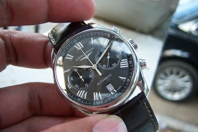 Jam Longines Black jam tangan for sale longines master collection