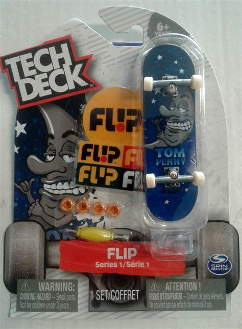 tech deck flip board tech deck flip quot tom quot series 1 finger skateboard