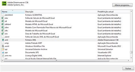 Office Xml Handler Office 2013 Ficheiros Xml Abrem Dreamweaver Em Vez
