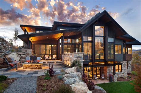 25 best ideas about modern mountain home on pinterest breathtaking contemporary mountain home in steamboat springs