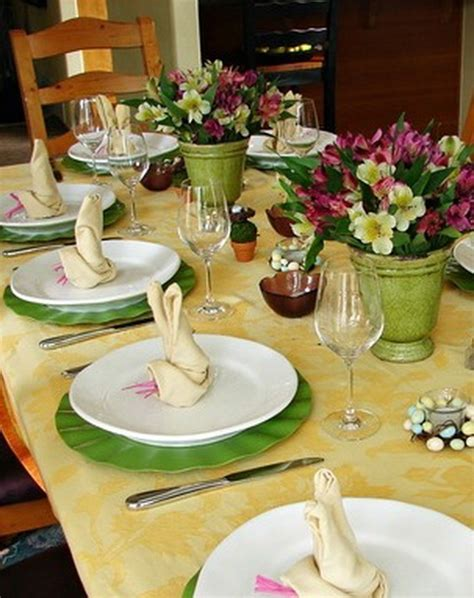 spring table settings ideas spring tablescapes on pinterest easter table easter