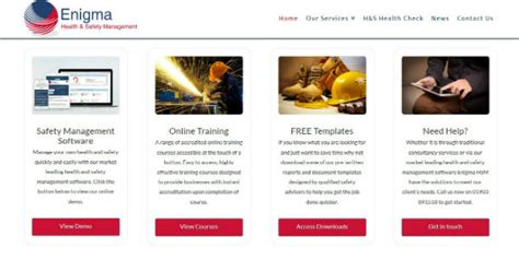 enigmasoftware official site our new website is live online health and safety