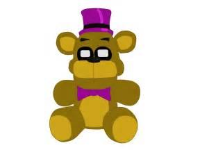 Fredbear plushie fnaf 4 minigames by j04c0 on deviantart