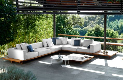 indoor outdoor furniture ideas trib 249 vis 224 vis sofa salontafel in teakhout