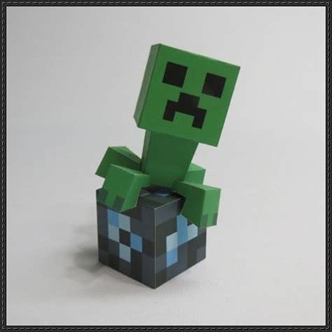 Minecraft Papercraft Creeper - papercraftsquare new paper craft minecraft
