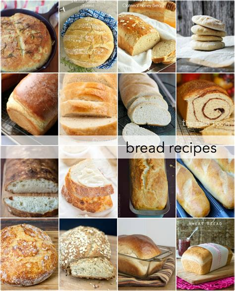 Handmade Bread Recipes - recipe for bread pictures to pin on
