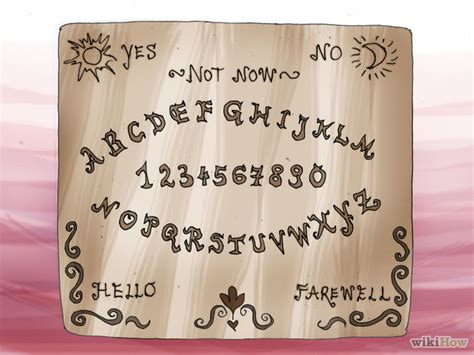 How To Make A Ouija Board Out Of Paper - how to create a ouija board with printable ouija board