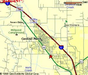 where is central point oregon on the map central point medford pacific pride