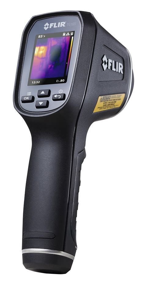 thermal flir flir tg165 thermal imaging ir thermometer