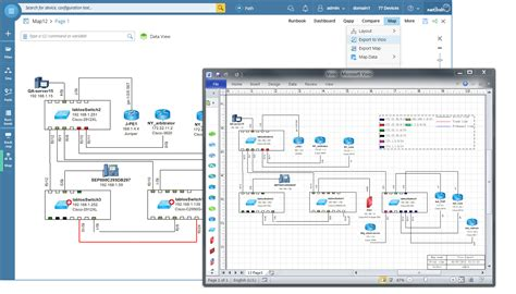 convert visio to png automated network documentation netbrain