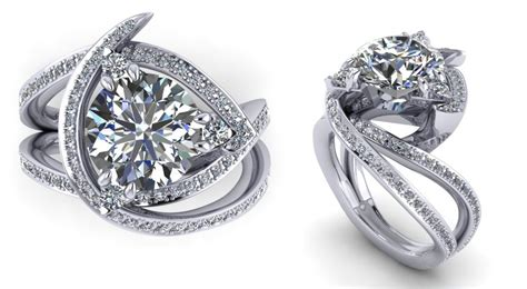 engagement rings unique recently designed unique engagement rings to inspire you ritani