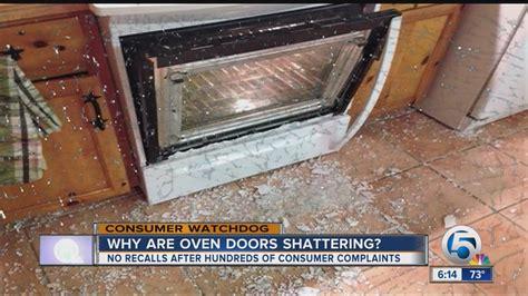 Oven Door Glass Shattered Shattering Oven Doors