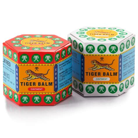 Tiger Balm White Promo tiger balm ointment pack of 4 krisshop singapore