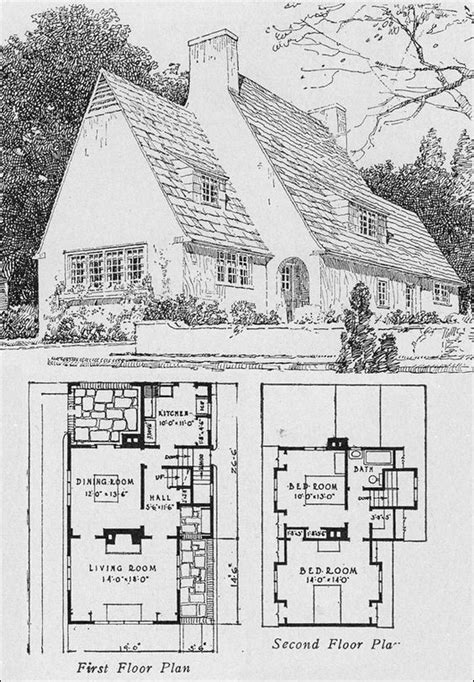 small english cottage plans small house plans house plans and small houses on pinterest