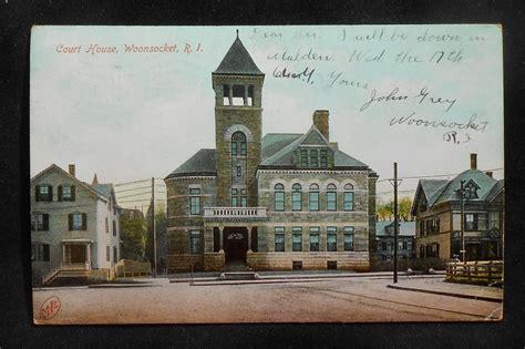 providence court house 1910 court house woonsocket ri providence co postcard rhode island ebay