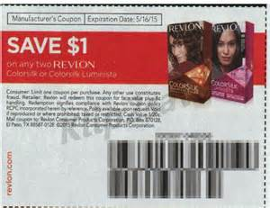 revlon hair color coupons revlon hair color only 2 50 at walgreens with insert