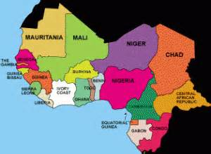 west africa map countries the cultural legacy of west africa study