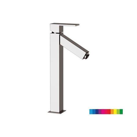 rubinetti led miscelatore lavabo alto con luce led senza scarico