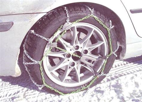 cuando usar las cadenas de nieve nieve hielo cu 225 ndo y c 243 mo usar las cadenas del coche