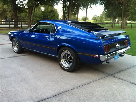 one for sale 1969 ford mustang mach 1 428 scj fastback 137640