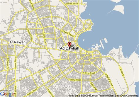 middle east map doha object moved