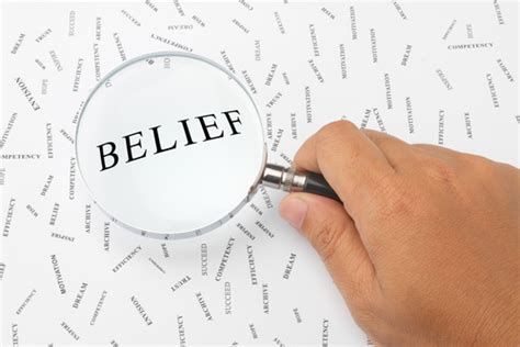 belief knowing your beliefs personal mastery