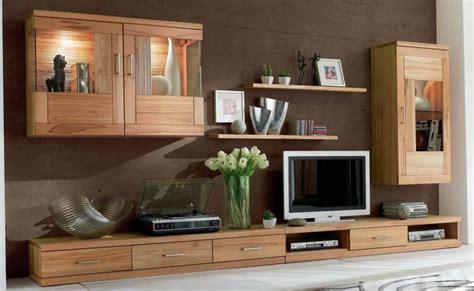 wohnzimmer kernbuche wohnwand wohnzimmer tv lowboard wandboard vitrine schrank
