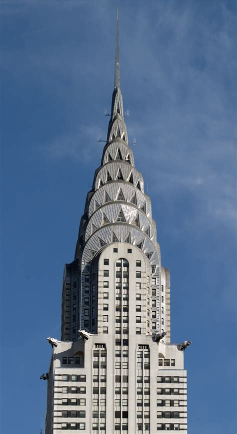 Chrysler Building by File Chrysler Building Spire Manhattan By Carol