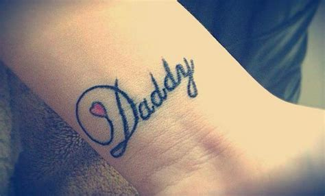 tattoo love daddy daddy image 1631916 by lovely jessy on favim com