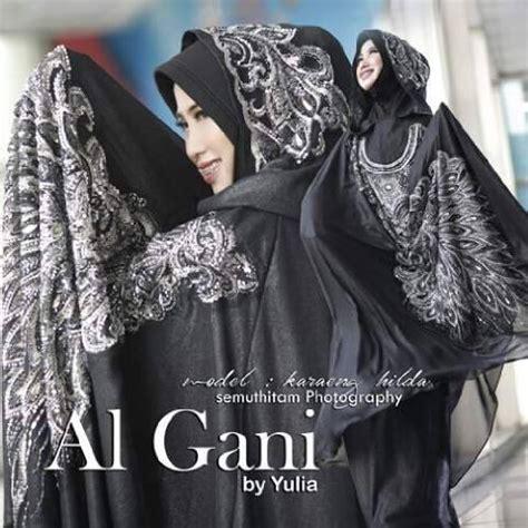 Mukena Al Gani Ruffle By Yulia 10 mukena al gani nathania jual mukena al gani