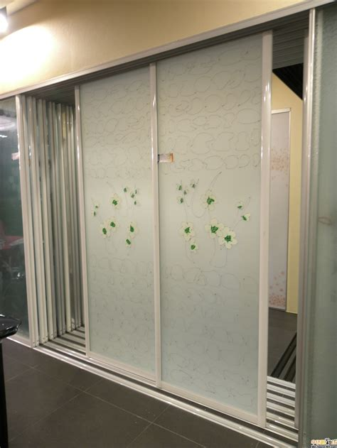 cheap price interior door glass sliding door with