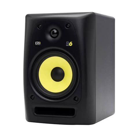 Speaker Monitor krk r6 passive studio monitor speaker single studio monitor speakers from inta audio uk