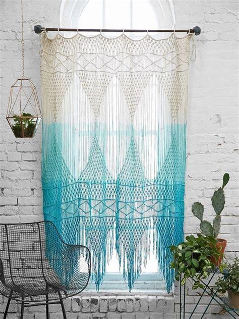 macrame cortinas c 243 mo hacer tu propia cortina o tapiz colgante de macram 233