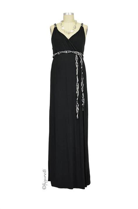Dress Sofia Grey Maxi sofia maxi maternity dress in black by everly grey