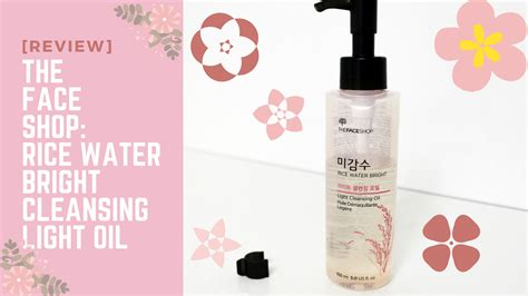 The Faceshop Rice Water Bright Cleansing Wipes review the shop rice water bright cleansing light pink
