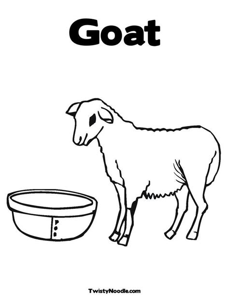 boer goat coloring page goat printables coloring pages coloring home