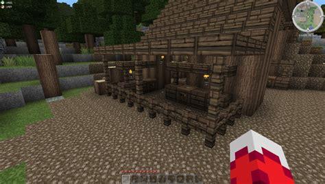 village lumber mill minecraft project