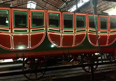 carrozza treno carrozza treno reale foto di museo nazionale