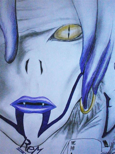 death note rem drawing rem part 1 drawing death note by lucidark on deviantart
