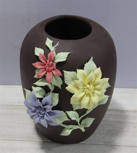 Pottery Flower Vases by Different Shaped Types Of Ceramic Flower Vase Buy