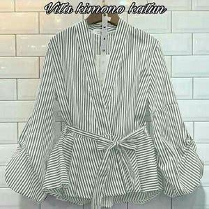 Atasan Wanita Blouse Polos Baju Celana Kulot Motif Isyana Set Xl model baju atasan wanita polos lengan panjang terbaru