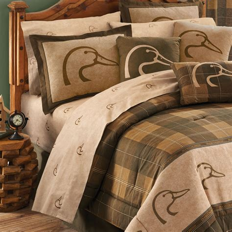 ducks unlimited bedding ducks unlimited plaid sheet sets