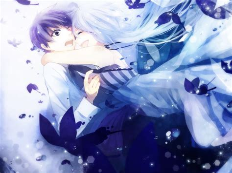 anime couple hugging cute anime couple hugging anime 3 pinterest to be